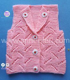 Baby Sweater Knitting Pattern, Baby Knitting Patterns, Baby Krishna, Knit Vest, Baby Sweaters, Pure Products, Fashion, Craft, Baby Sweater Patterns