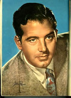 The oh so handsome John Payne actor Hollywood Men, Classic Hollywood, John Payne Actor, Clark Gable, Film Music Books, The Past, Cinema, Handsome, Actors