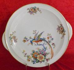 Thomas Birds of Paradise Fine China Cake Plate by JCAtticTreasures