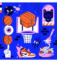 Simple Illustration, Graphic Illustration, Color Pick, New Artists, Play Hard, Sticker Design, Art Inspo, Vector Art, Closer