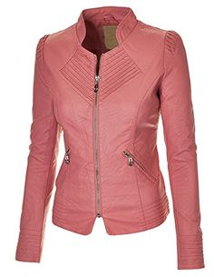 Made By Johnny Women's Flirty Faux Leather Biker Jacket Made By Johnny http://www.amazon.com/dp/B00LOSGPEW/ref=cm_sw_r_pi_dp_vp8Bub14WZZJP