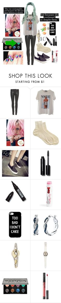 """Frankie 40"" by stockmon ❤ liked on Polyvore featuring rag & bone, Dolce&Gabbana, Wildfox, Bobbi Brown Cosmetics, Ardency Inn, Crystal Sophistication, Henley Brands, Rolex, Urban Decay and Kat Von D"