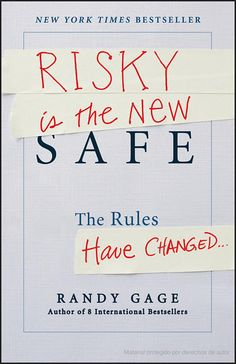 7 best books 2read images on pinterest book cover art book to risky is the new safe the rules have changed randy gage fandeluxe Choice Image