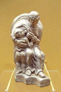 Dea Matrona -  Teutonic mother goddess and great provider of food and refreshment., personifying the earth's abundance