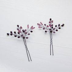Purple hair pins Wedding hair piece Pearl hair piece Purple The most prominent hair accessories Hair Chains, Wedding Hair Pins, Hair Beads, Pearl Hair, Hair Ornaments, Bridal Hair Accessories, Bridal Headpieces, Purple Hair, Hair Jewelry