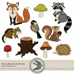 Digital Clip art Pack Instant Download  by TheBarnSwallowDesign, $2.50