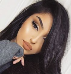 Mariam Rahman - Augenbrauen kosmetik - Damen un Mann Schonheit Glam Makeup, Kiss Makeup, Cute Makeup, Gorgeous Makeup, Pretty Makeup, Makeup Inspo, Makeup Inspiration, Beauty Makeup, Hair Makeup
