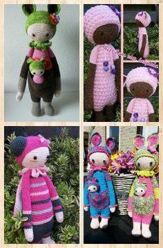 lalylala family made by Rina B. / crochet patterns by lalylala