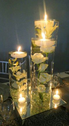 Centre Piece for a Wedding. Function & Wedding House Bloemfontein South Africa