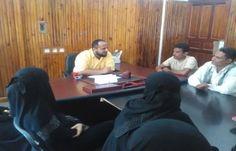 اخبار اليمن اليوم الأحد 6/11/2016 عدن .. مدير البريقة يناقش امكانية انشاء مركز للمعلومات في المديرية