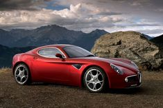 Auto Cars Wallpapers 2013: New 2013 Alfa Romeo 8C Competizione Sports Cars wallpapers