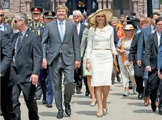 Dutch Royal Couple visit Canada - Day-3