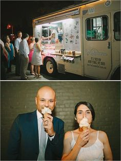 Check out this unconventional idea for a wedding: Food trucks for late night snacks. #SwansonDiamondCenter
