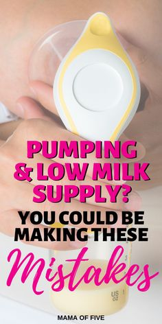 Dont make these pumping mistakes! Are you worried about how much breastmilk you are pumping? Check you aren't making these pumping mistakes that may be causing your supply to tank