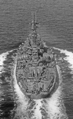 USS South Dakota in Puget Sound, WA, 21 Aug 1944