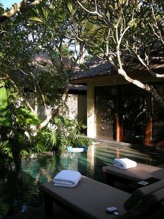 Kayumanis Nusa Dua Ville, Bali, Indonesia. Via I'ts A Beautiful World.