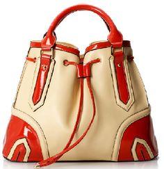 Digest of Fashion Genuine Leather Italian Hand Bag