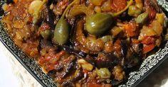 Caponata siciliana. La délicieuse entrée d'aubergines confites à la sicilienne. La recette par Diana.