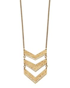 NEW! $59.00 Chevron Plunge Necklace | Jewelry by Silpada Designs Order today at www.mysilpada.com/kelley.dibella