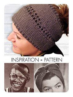This vintage-inspired headband doubles as a neckwarmer! Make it with Vanna's Choice and size 7 knitting needles!