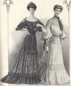 1904 clothing styles are close to what I'm after. Mostly because it's post bustle/cage.  Corsets are hard enough.