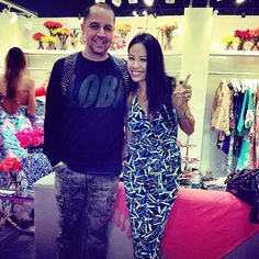 Thx @shop3ny For Stopping By To Show Us Love! Yk U! #coterie Day 2 #yumikim Booth #6044. #ykmyway By Yumi Kim