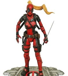 Marvel Select Lady Deadpool Action Figure Coming Soon With Headpool. #marvel #marvelselect #deadpool #ladydeadpool #headpool #FLYGUY #FLYGUYtoys