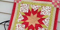 This Easy Pattern has no Y-Seams! If you love the look of Lone Star quilts but have been afraid to tackle one, this is the pattern for you. Construction has been simplified so there are no Y-seams or other complicated piecing. Instead, it goes together easily and produces a lovely 19″ block you can use …