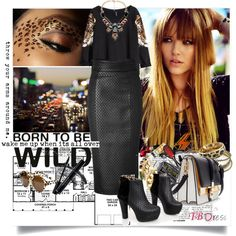 """""""Born to be WILD"""" by ramona-ice on Polyvore"""
