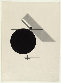 El Lissitzky, Untitled from Proun 1919-23