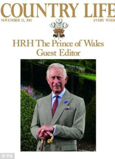 Prince Charles guest-edited a special edition of Country Life to commemorate his 65th Birthday.