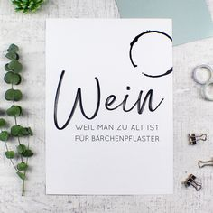 Wein Poster, Office Quotes, Picture Design, Laser Engraving, Letter Board, Hand Lettering, Diy And Crafts, Typography, Presents