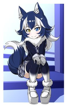 Kawaii Neko Girl, Cute Neko Girl, Kawaii Anime, Anime Wolf Girl, Anime Girl Neko, Manga Girl, Anime Lobo, Werewolf Girl, Monster Girl Encyclopedia