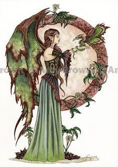 Fairy Art Artist Amy Brown: The Official Online Gallery. Fantasy Art, Faery Art, Dragons, and Magical Things Await. Fantasy Art Angels, Fantasy Dragon, Elves Fantasy, Fairy Pictures, Fantasy Pictures, Amy Brown Fairies, Dark Fairies, Fairy Tattoo Designs, Kobold