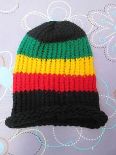 1 Mütze Kopfbedeckung Hippiekleidung Kleidung Hippie Goa  Neu Hut Nr.5 Reggae