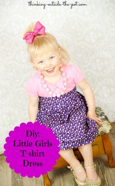 DIY: Little Girls T-