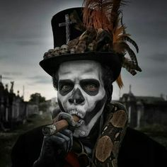 Matt Barnes photography. ...awesome voodoo witch doctor makeup
