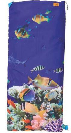 ✓Kinderslaapzak Aquarium ✓ 100% Polyester Slaapzak ✓ Makkelijk Schoon Te Maken ✓ Bestel Direct Online!!!
