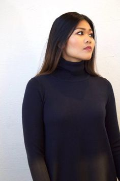 CATHRINE HAMMELA-LINE TURTLENECK SWEATER | METTE HAGEN