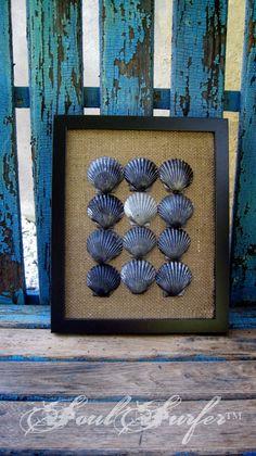 Seashell Frame via Etsy