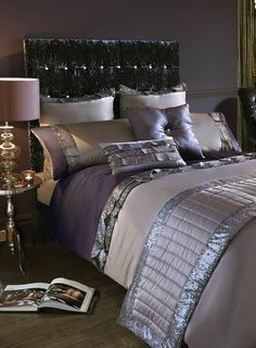 """Search Results for """"bed linen sets"""" – Best Bed Linen Ever Dream Rooms, Dream Bedroom, Master Bedroom, Bedroom Decor, Bedroom Ideas, Neutral Bed Linen, Purple Bedrooms, Bed Linen Design, Bed Linen Sets"""