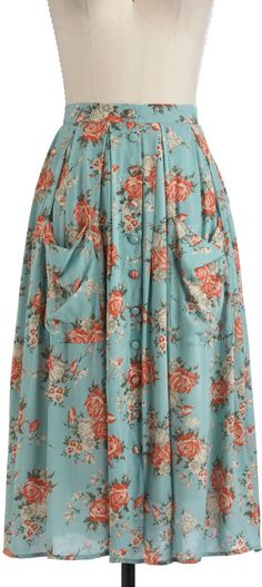 #ModCloth                 #Skirt                    #Sweet #Time #Skirt #Retro #Vintage #Skirts #ModCloth.com                     Sweet Tea Time Skirt | Mod Retro Vintage Skirts | ModCloth.com                                          http://www.seapai.com/product.aspx?PID=1049796