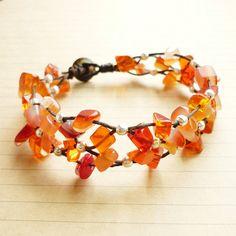 The Net of Carnelian - Orange Carnelian Stone