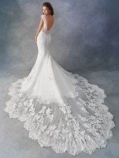 Kenneth Winston Sincerity Bridal Collection of Justin Alexander 2019 Wedding Dresses How To Dress For A Wedding, Fit And Flare Wedding Dress, Country Wedding Dresses, Perfect Wedding Dress, Wedding Dress Styles, Dream Wedding Dresses, Designer Wedding Dresses, Bridal Dresses, Wedding Gowns