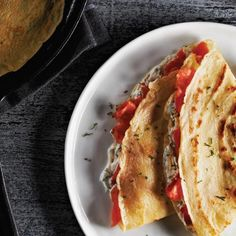 Try a taste of the west coast with this smoked salmon and dill crêpes #recipe.