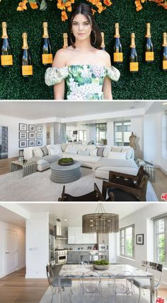 Kendall Jenner's Wilshire Boulevard two-bedroom condo.