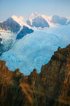 picture of Root Glacier Aerial Scenery Wrangell St Elias National Park Image