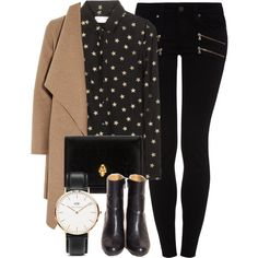 Untitled #5015 by laurenmboot on Polyvore featuring Yves Saint Laurent, Harris Wharf London, Paige Denim, Alexander McQueen and Daniel Wellington