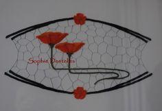 Caen, Lace Heart, Lace Jewelry, Lace Making, Bobbin Lace, Irish Crochet, Messages, Lace Detail, Poppies
