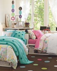 Room for two. #bedroom #kids